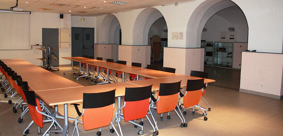 Salle des voûtes - salle de conférence Fédération 3C